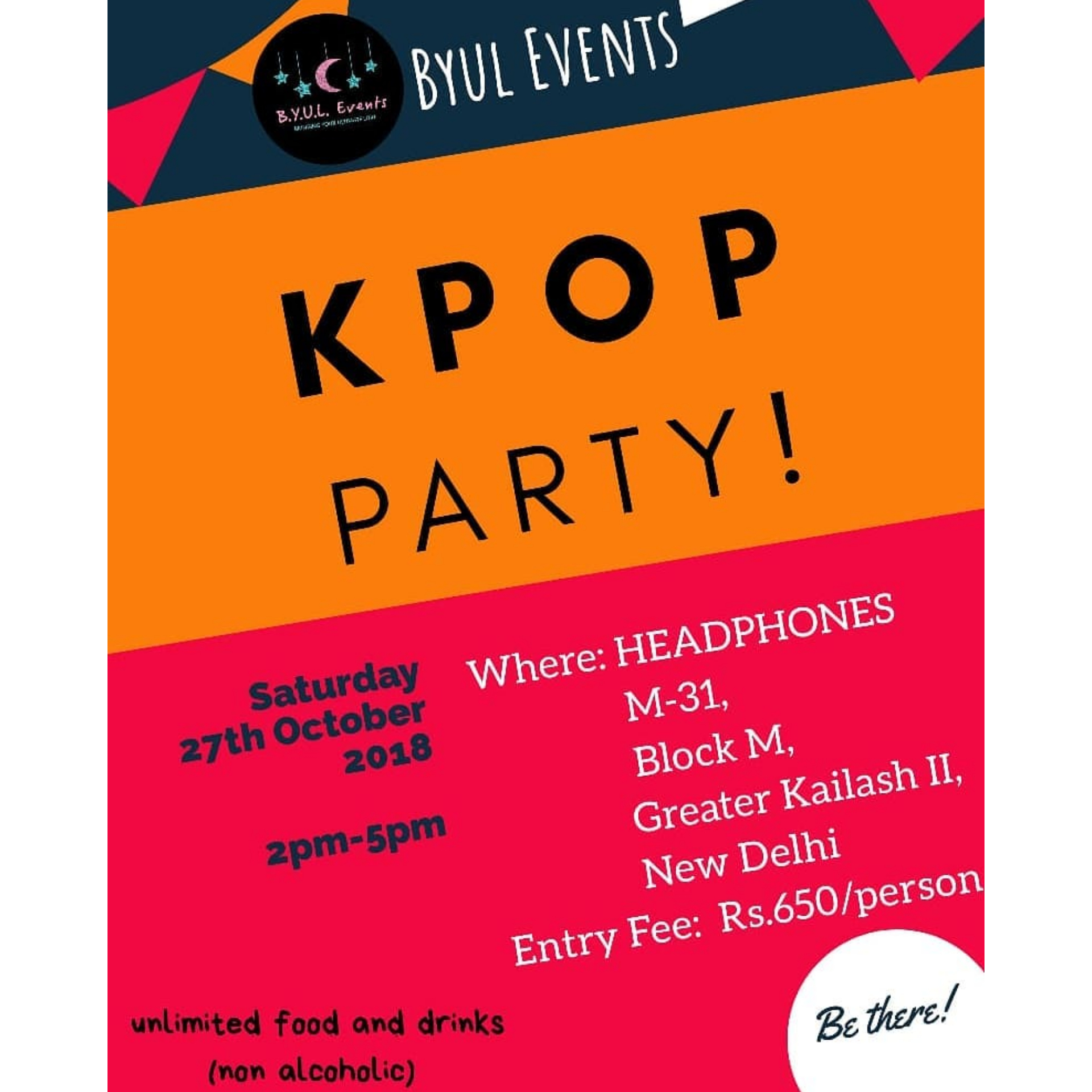 KPOP Dance party Delhi