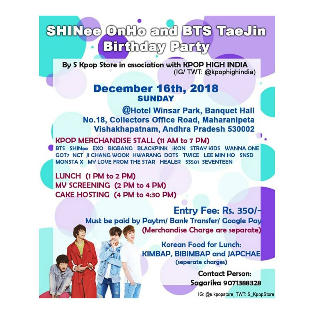 OhNo TaeJin birthday meet