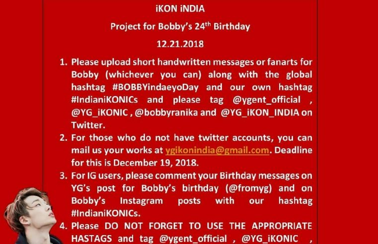 Bobby birthday project