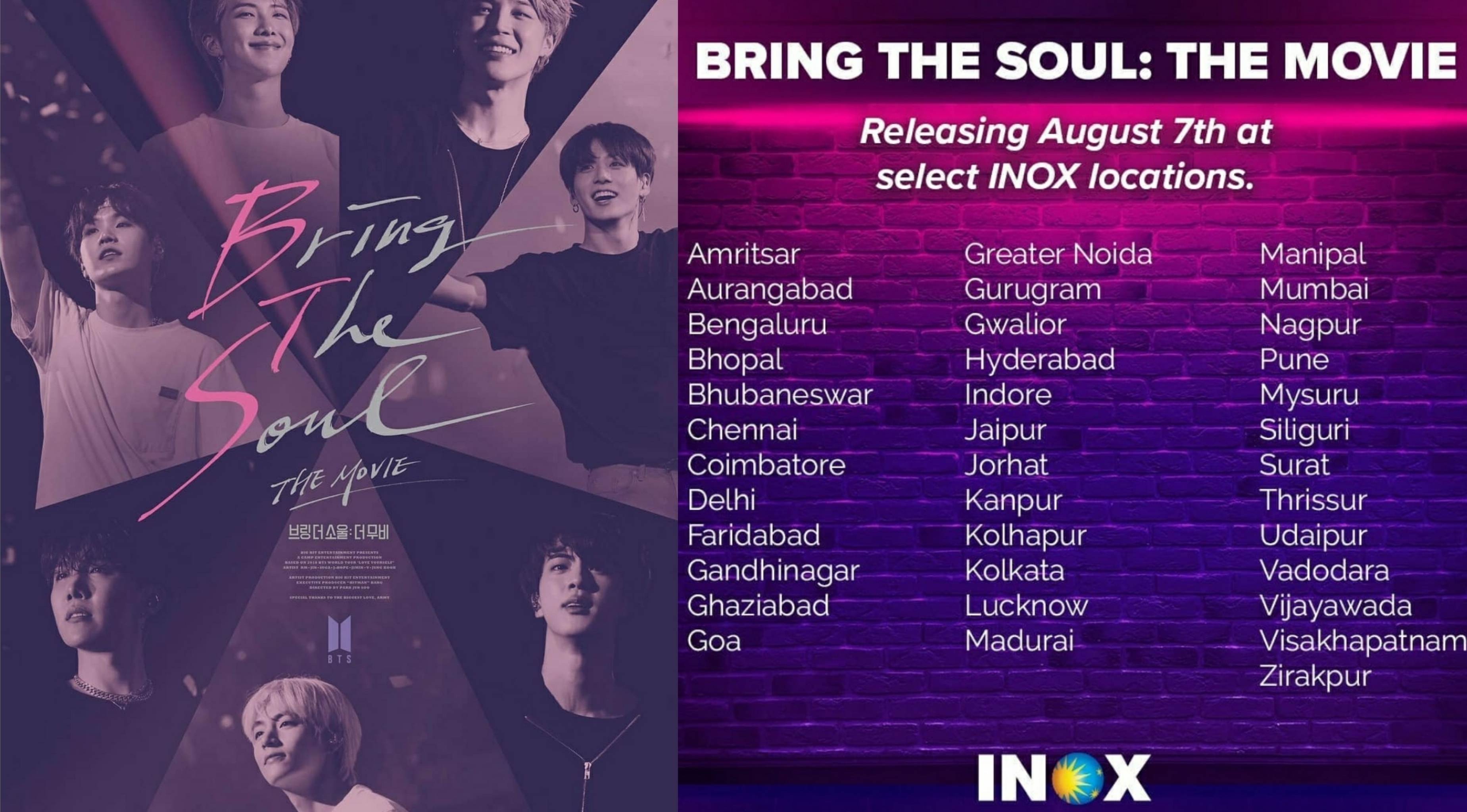 BTS' Bring The Soul: The Movie Is Set To Release In India [50+