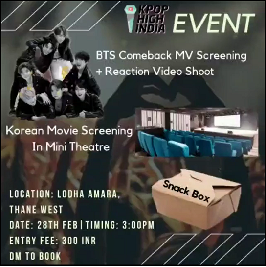 BTS MV screening