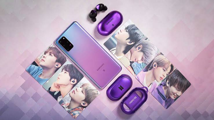 Bts Edition Samsung S20 And Galaxy Buds Kpop High India