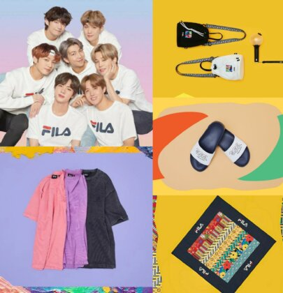 FILA Launches The BTS X LOVE YOURSELF Collection In India