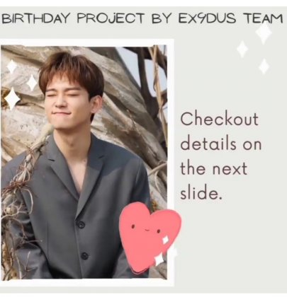 Chen birthday project by EX9DUS