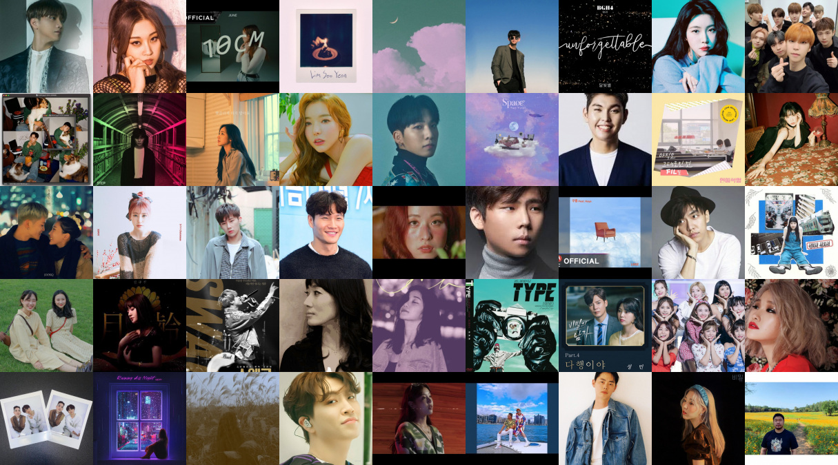 Artists featured in the comeback guide by KPOP HIGH INDIA