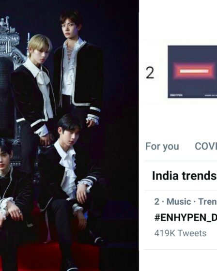"ENHYPEN Peaks At #2 On iTunes India With Album ""Border: Day One"""